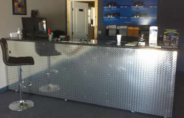 Diamond Stainless Steel Tread Plate Used For Reception Decoration